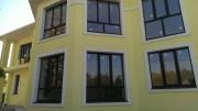 Покраска фасадов частных домов, муниципальных зданий.