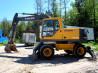 Колесный экскаватор Volvo 160, макс. опции, 7000 м/ч