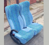 Сиденье люкс 2-местное пассажирское автобусное